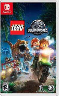 Jogo Lego Jurassic World Nintendo Switch Midia Fisica Lacrad