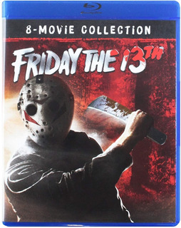 Friday The 13th - 8 Movie Collection Blu Ray