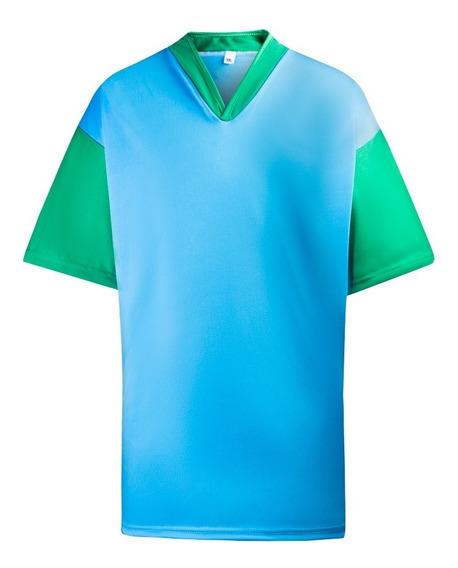 Camisetas Fútbol Equipos X 10 Un Numeradas
