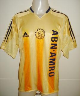 Camisa Ajax Holanda Ano 2004 Tam.m