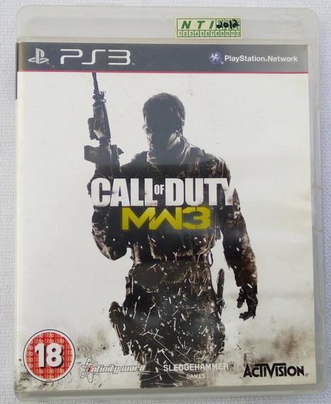 Jogo Ps3 Call Of Duty Original Perfeito Veja Fotos