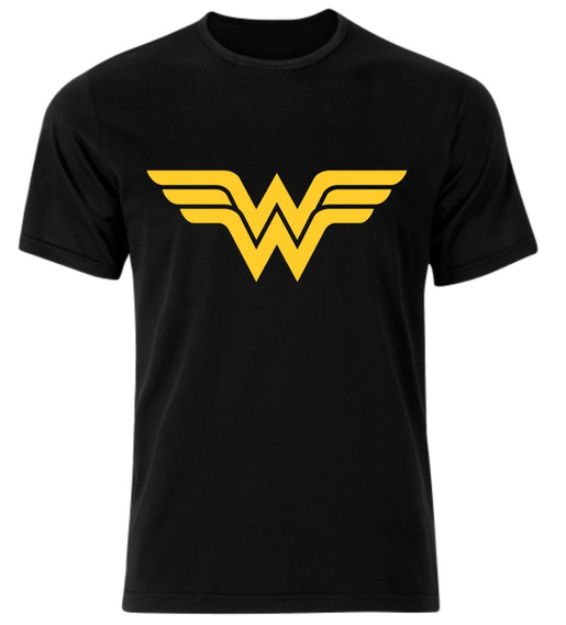 Remera Mujer Maravilla Wonder Woman Logo Dc Comics