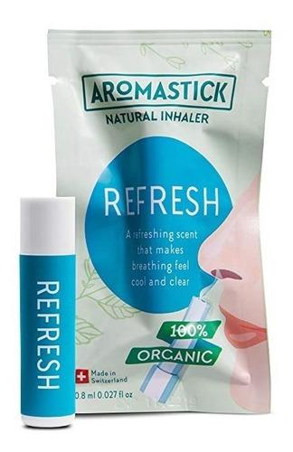 Aromastick - Inalador Nasal - Aromaterapia - Refresh