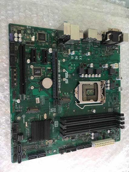 Placa Mãe Asus Prime B250m-c Lga1151 Ddr4 100%