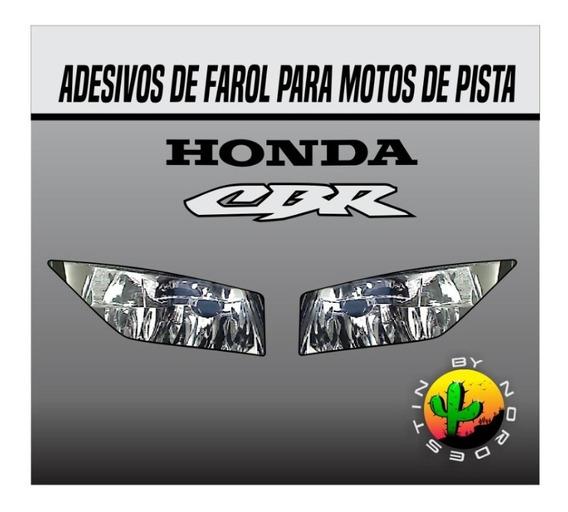 Adesivo Farol Moto De Pista Cbr 600/1000 Rr 2014