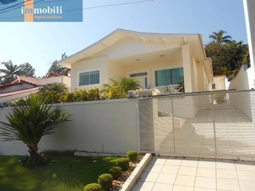 Imagem 1 de 15 de Casa Térrea Em Condomínio Tranquilo No Parque São Paulo - Cotia - Sp - Rt1456