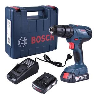 Taladro Atornillador Bosch Gsr 180 Li 2 Baterías Torque Regu