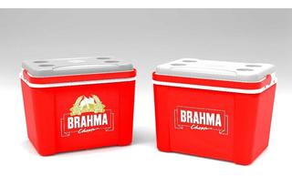 Caixa Termica Brahma 58 Latas Cerveja ,praia ,camping Etc