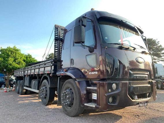 Ford Cargo 2429 Bitruck 8x2 2012 Não Usa Arla