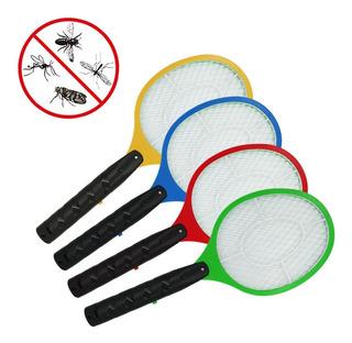 Raqueta Electrica Mata Moscas Mosquitos Recargable Usb Cable