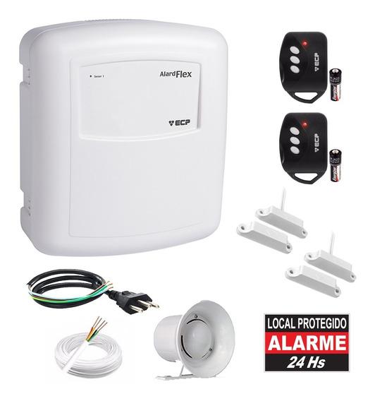 Kit Alarme Residencial 2 Sensores Porta 2 Controles Flex 1