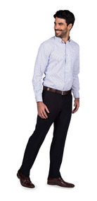Pantalón De Vestir Entallado Macowens