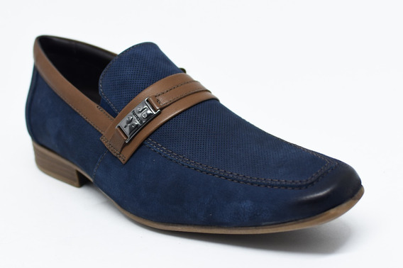 Sapato Ferricelli Slm50437 Cor Marinho Por: Thoke Calçados