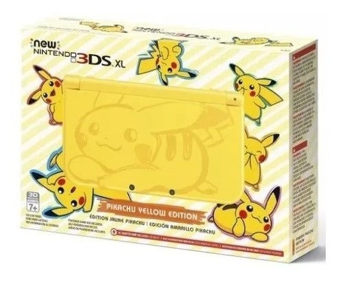 Console Nintendo 3ds Xl Yellow Pikachu Edition - Emitimos Nf