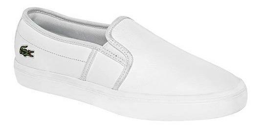 Zapato Casual Para Dama Lacoste Gazon Fi738
