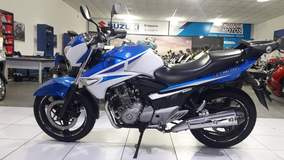Suzuki Inazuma 250 2015 Azul C\ 19.500 Km Impecavel