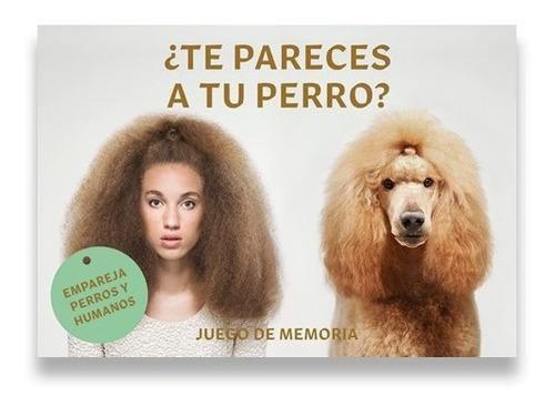 Imagen 1 de 6 de Te Pareces Atu Perro. Juego De Memoria
