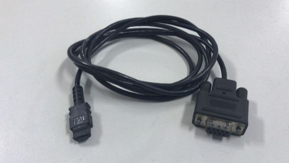 Cabo Dados Calculadora Hp 48 Conecta No Pc Entrada Serial