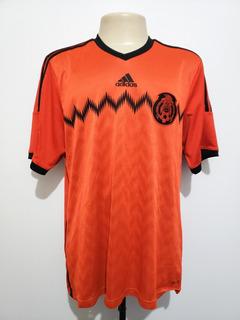 Camisa Futebol Oficial Seleção México 2014 Away Adida Tam Gg