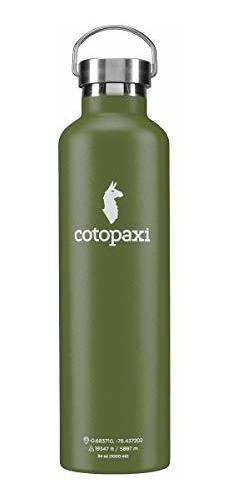 Cotopaxi Agua Botella De Agua Aislada De Doble Pared, Sellad