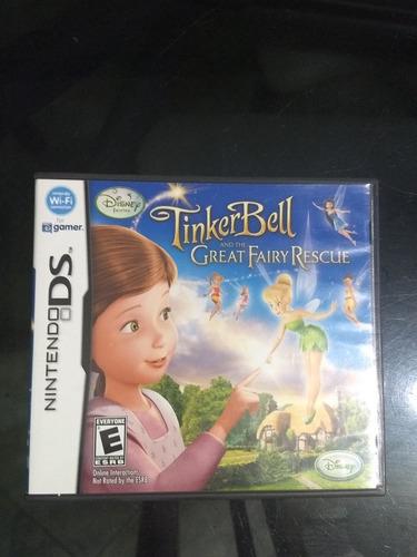 Juego Nintendo Ds Tinkerbell Y El Rescate De Las Hadas