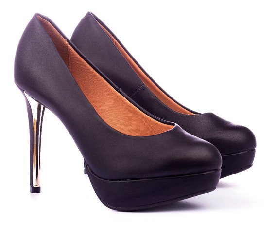 Zapatos Mujer Massimo Chiesa Plataforma Eco Cuero By Vizzano