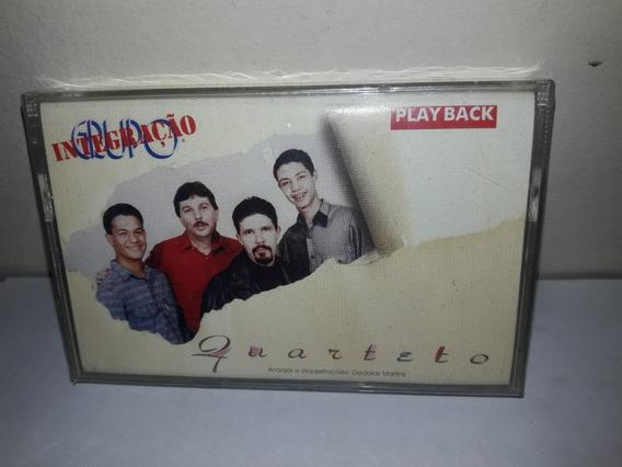 Fita K7 Grupo Integração Quarteto Play Back Lacrada