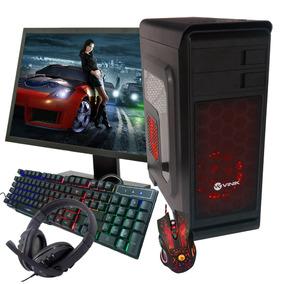 Pc Gamer Completo Hight A8 - 8gb Hd 1tb Gtx1050 Dvd -full Hd