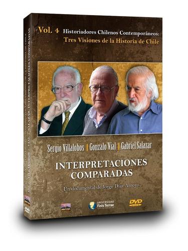 Imagen 1 de 4 de Dvd Villalobos, Vial, Salazar: Interpretaciones Comparadas