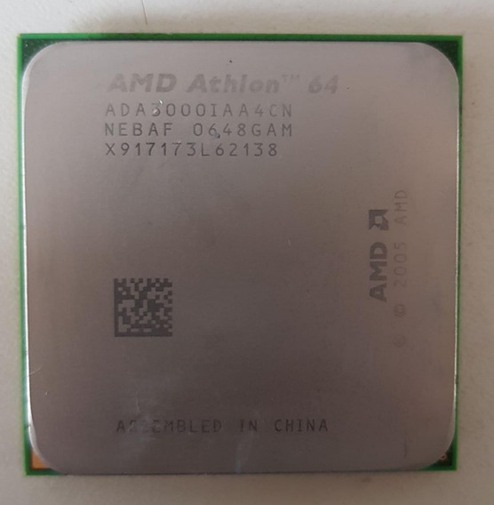 Processador Amd Athlon 64 1.8ghz Ada3000iaa4cn Usado
