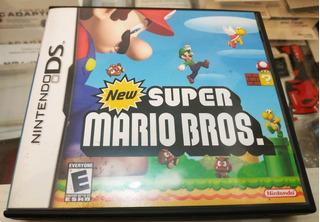 New Super Mario Bros Nintendo Ds, Impecable En Caja Español