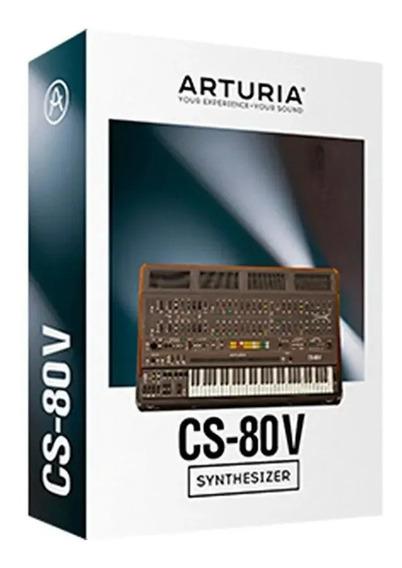 Software Arturia Cs80 V Original Licencia Oficial