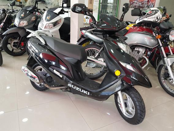 Suzuki Burgman 125i 2013 Preta 30000 Km