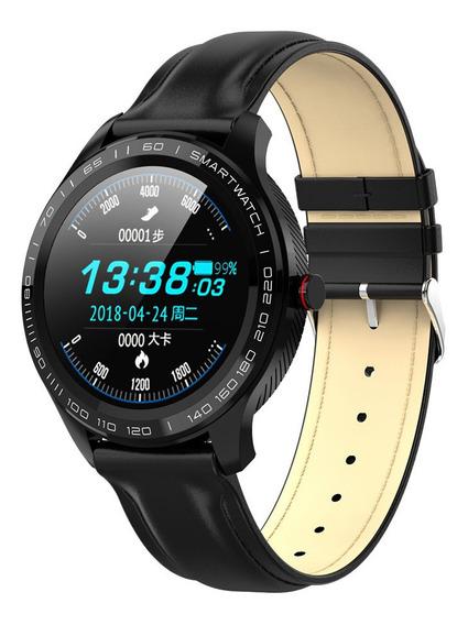 Reloj Inteligente, Smart Watch Bluetooth L9 Pulsera Fitness