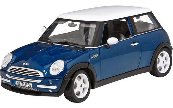 Mini Cooper 1:18 Bburago Carros Miniaturas Réplicas Coleção