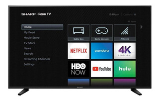"Smart TV Sharp 4K 60"" LC-60Q7370U"