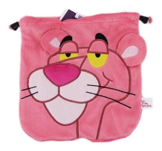 Bolsa Pink Panther Pantera Cor De Rosa - Original *20x20,5cm