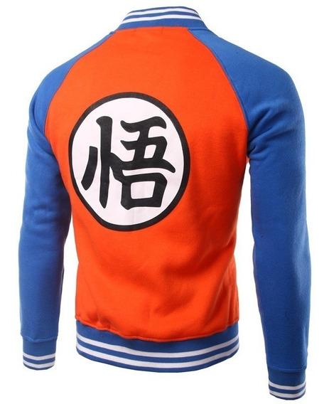 Jaqueta Moletom Casaco College Goku - Dragon Ball Z