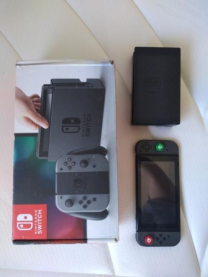 Nintendo Switch Desbloqueado + Joy Con E Controles Extras