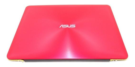 Tampa Da Tela Notebook Asus Z450l Z450la C/ Tela - Vermelha