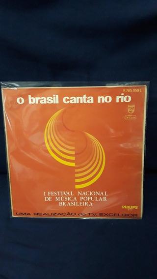 Lp O Brasil Canta No Rio - 1968 Raro