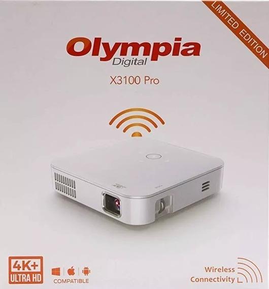 Mini Projetor Portátil E Recarregável - Olympia X3100 Pro