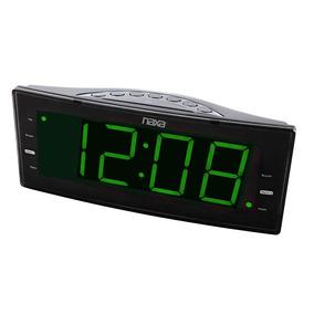 Rádio-relógio Digital Fm C/ 2 Alarmes E Saída Usb Nrc-166