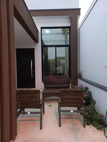 Imagem 1 de 28 de Casa Com 3 Quartos À Venda, 140 M² Por R$ 655.000 - Condomínio Park Real - Indaiatuba/sp - Ca11804