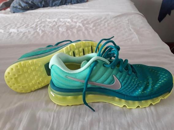 Nike Air Nuevas Naranja O Verde O Montagne En Violeta