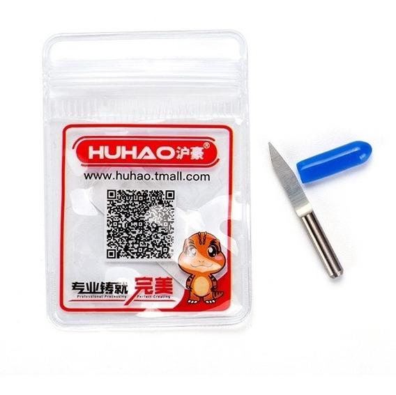 Fresa 1/8 V Carving Metal Duro P/ Cnc Router 20°x0,1mm C/1