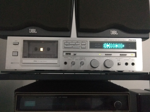 Tape Deck Polyvox Cp 950 D/akai/pioneer /cce/gradiente/techi
