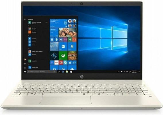 Notebook Hp 15-dw0036wm I3 2.1ghz 4gb 128gb 15.6 Touch Gold
