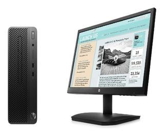Equipo Hp Sff 280 Corei5 8500 4gb 1tb Dvd W10 Pro + Monitor