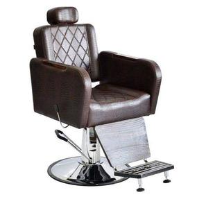 Cadeira Para Barbeiro Reclinável T. Santa Caravaggio = Mnn